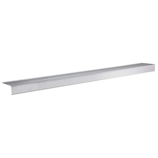 "M-D Ultra Satin Nickel 36"" x 4-1/2"" Sill Nosing"
