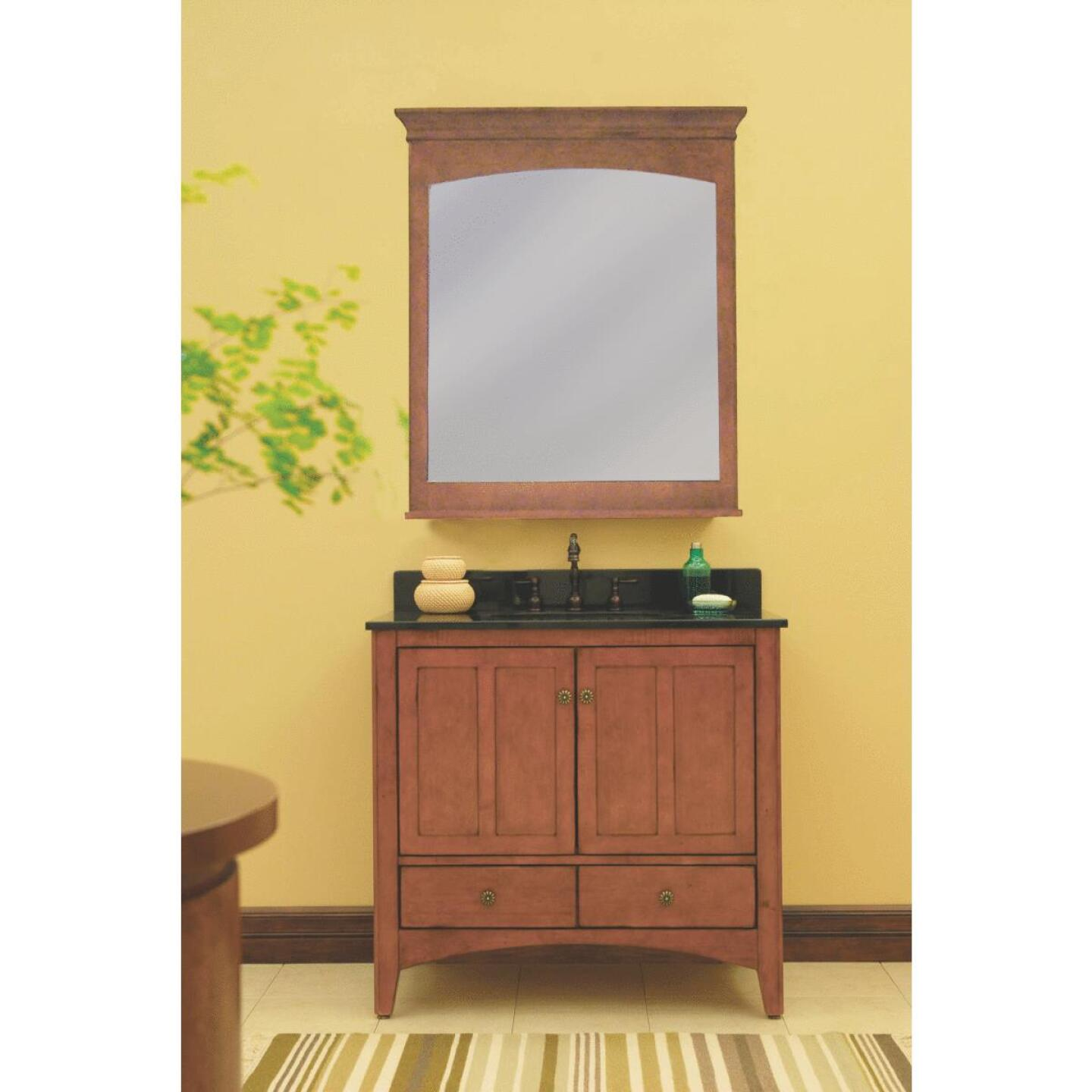 Sunny Wood Expressions Warm Cinnamon 36 In. W x 34 In. H x 21-1/4 In. D Vanity Base, 2 Door/2 Drawer Image 3