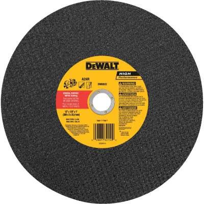 DeWalt HP Type 1 12 In. x 1/8 In. x 1 In. Metal Cut-Off Wheel