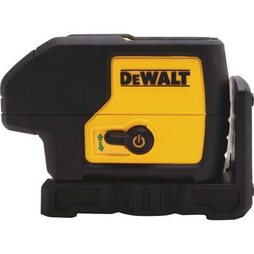 DeWalt 100 Ft. Green Self-Leveling 3-Spot Laser Level