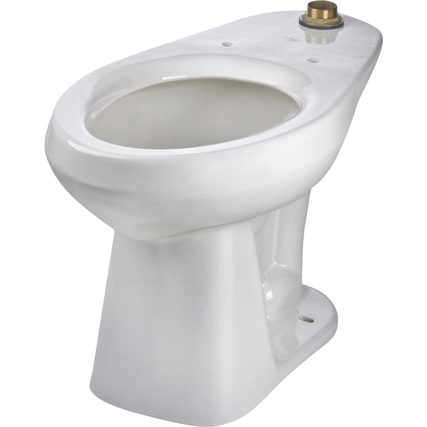 Mansfield Adriatic White Elongated 17 In. ADA Toilet Bowl Image 2
