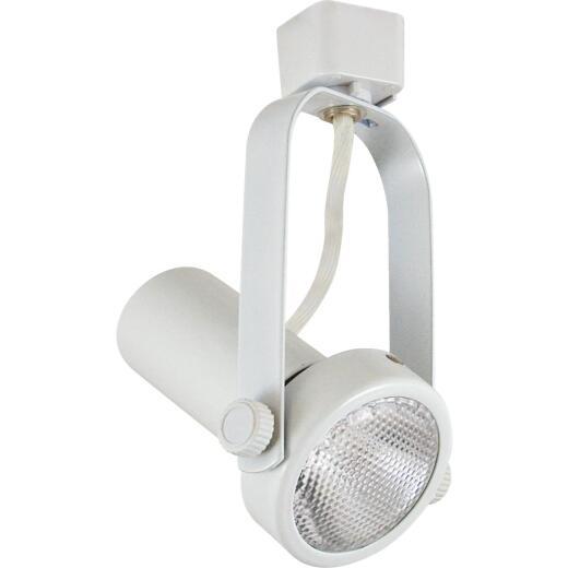 Liteline White 1-Bulb PAR20 Track Lighting Fixture