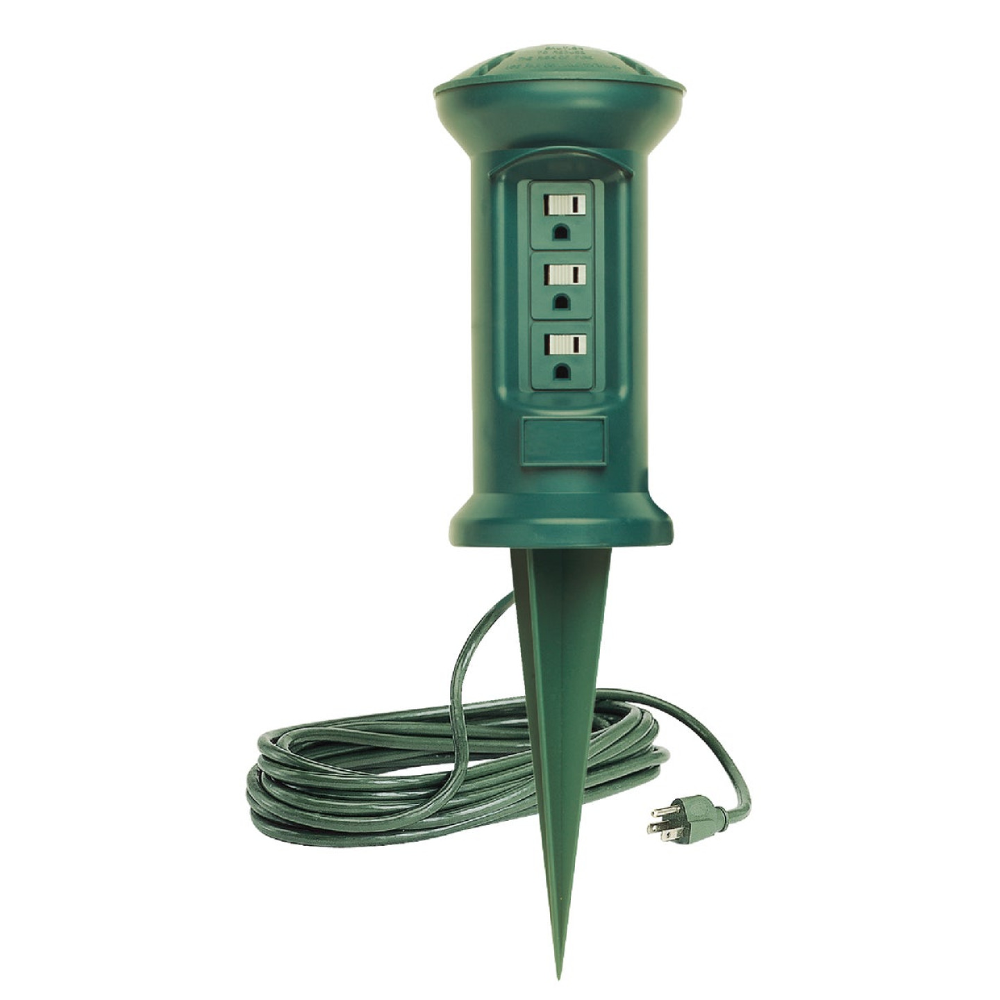 Do it 3-Outlet 13A Outdoor Power Stake with 15 Ft. Cord Image 1