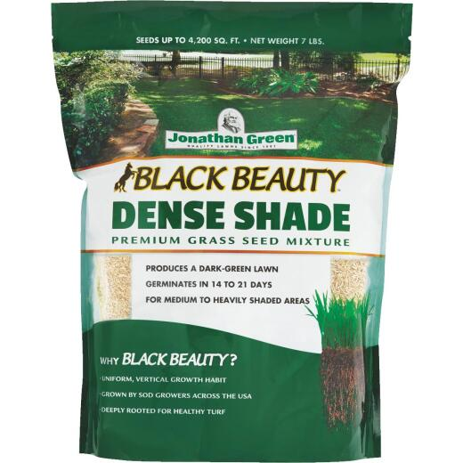 Jonathan Green Black Beauty 7 Lb. 2100 Sq. Ft. Coverage Dense Shade Grass Seed