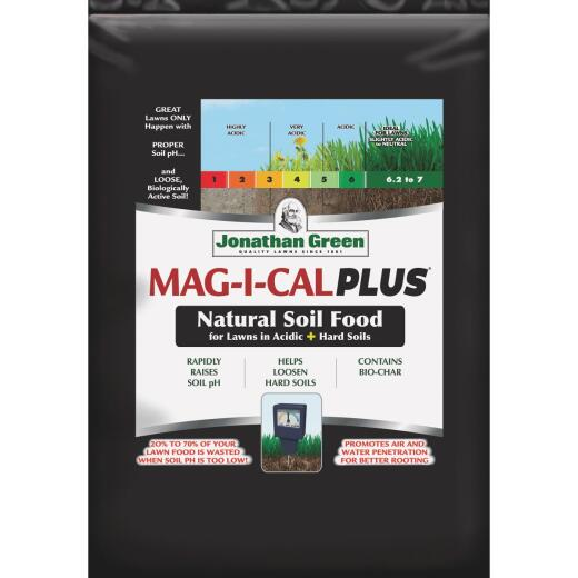Jonathan Green MAG-I-CAL Plus 18 Lb. 5000 Sq. Ft. 28% Calcium Lawn Fertilizer For Acidic Soil